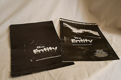 Vintage cinema campaign press kit, pack, book: THE ENTITY  Barbara Hershey
