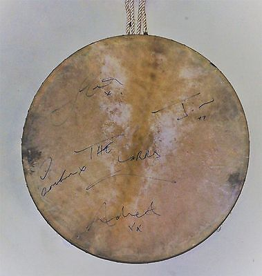 Bodhran Bodhrán Drum Signed by the Corrs - Authentic and Rare