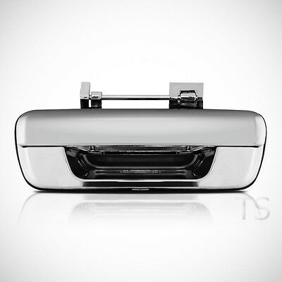 Chrome Tailgate Handle Rear Door For Isuzu Dmax D-max Holden Redeo 2002 - 2011