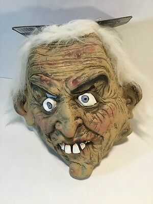 NEW Ugly Scary Creepy Latex Halloween Costume Head Face Mask PMG