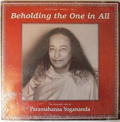 "Paramahansa Yogananda ‎– Beholding The One In All (1985) VINYL 12"" 33RPM LP"