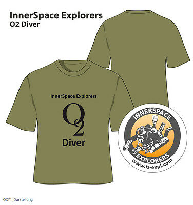 "ISE Logoshirt ""The Limit ""O2-Diver"""