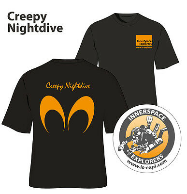 "ISE Logoshirt ""Creepy Nightdive"""