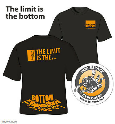 "ISE Logoshirt ""The Limit is the Bottom"""