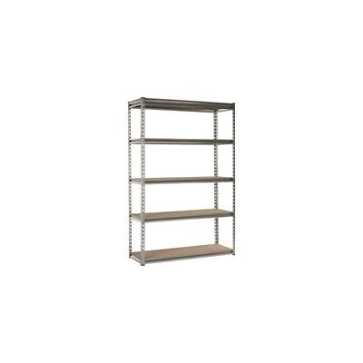 Globel Heavy Duty 5 Shelf Tier Shelving Unit 167Cm X 110Cm X 46Cm
