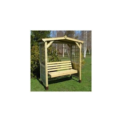 Wood Poseidon Swing Seat Arbour / Pressure Treated Timber