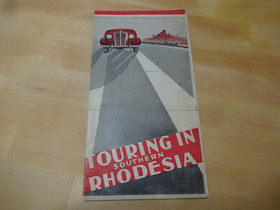Early Touring in Southern Rhodesia Brochure