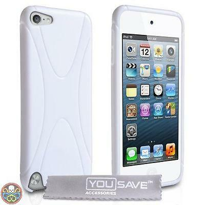 Yousave Accessories® Blanc Ipod Touch 5 5 G In Silicone Colore: Bianco Nuovo