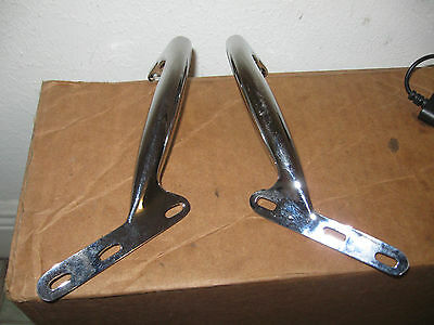Mga Windshield Grab Handles X2 New Chrome