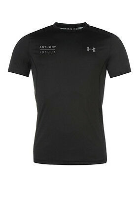Anthony Joshua Authentic Under Armour Fitted Tech Tee Shirt in LARGE