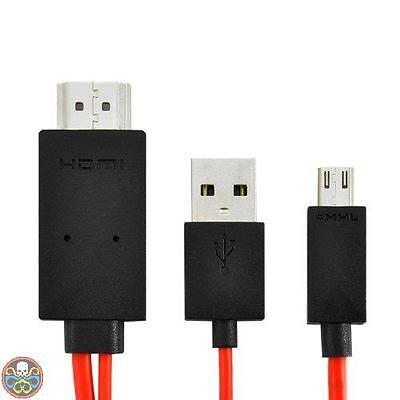 High-Tech Place -Cavo Hdmi Per Samsung Galaxy S3 Ricarica Usb Nuovo
