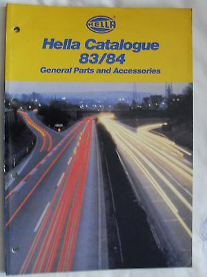 HELLA  1983/84 GENERAL PARTS AND ACCESSORIES CATALOGUE  (Ref 71)
