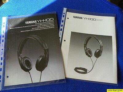 Yamaha YH-100 Original brochure & Yamaha Reference Guide New