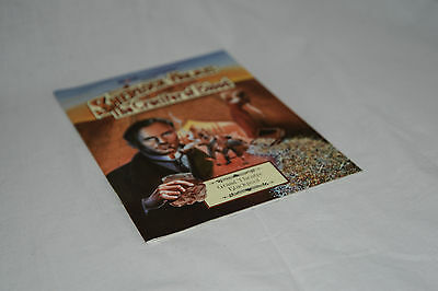1993 Blackpool Grand Theatre programme SHERLOCK HOLMES + THE CRUCIFIER OF BLOOD