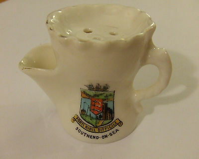 "Gemma crested china - shaving mug - ""Southend-on-Sea"""