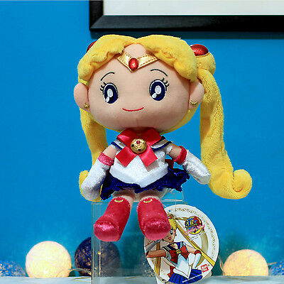 """NEW / Sailor Moon Collection by Sekiguchi - Sailor Moon 10"""" Plush Toy"""