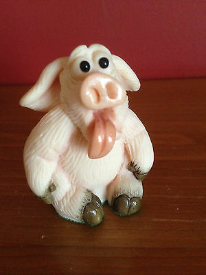 "Collectable Piggin ""knackered"" 2000 By David Corbridge  Handmade"