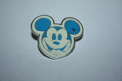 Disney Trading Pin Colorful Hidden Mickey Head Icon Blue Face No. 4 of 5 2008