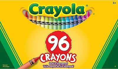 Crayola 96 Crayons 96 colors 1-Pack