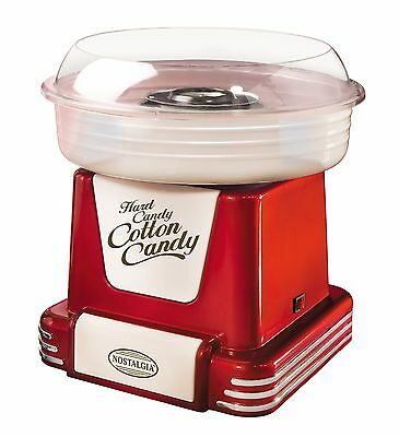 Nostalgia Electrics PCM805RETRORED Retro Series Hard & Sugar-Free Candy Cotto...