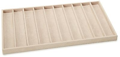 Wolf Designs 435770 Beige Necklace and Bracelet Tray Insert