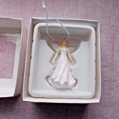 Royal Doulton Angel Hallelujah Porcelain Christmas Ornament New in Box