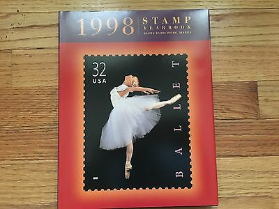 1998 Stamp Yearbook (1998, Hardcover, USPS, No Stamps) - Brand New