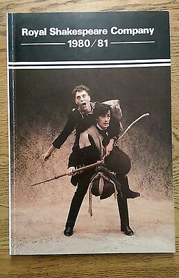 RSC Yearbook 1980/81 (Roger Rees, Judi Dench)  Royal Shakespeare Company