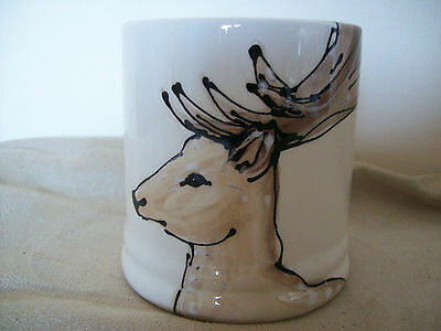 Stag Do!  Pottery Mug - Heather Richards Handpainted Exclusively For Holkham