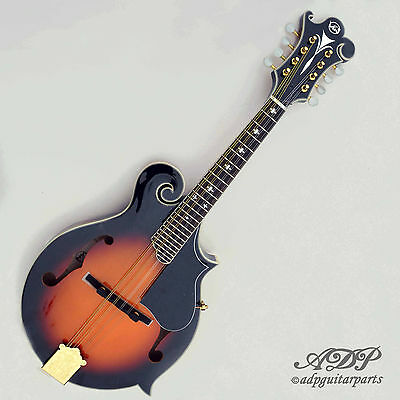 MANDOLINE VGS F2-Premium Mandolin style F5 Solid Spruce Flamed Maple Valise Case