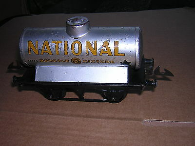 HORNBY O gauge  petrol tank wagon NATIONAL - unboxed  FOR RESTORATION