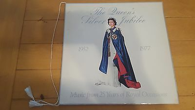 The Queen's Silver Jubilee Double LP and Booklet with Cord 1976