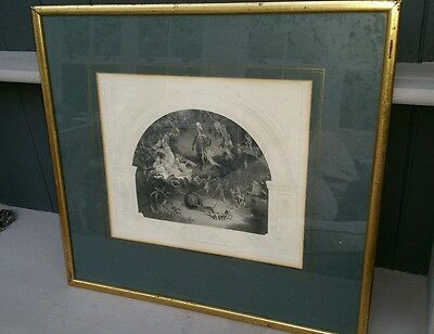 19thC Engraving 'There Sleeps Titania'  R Huskisson from midsummer night's dream