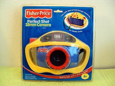 Sealed Fisher Price Perfect Shot 35mm My First Built Tough Camera w/ Flash New