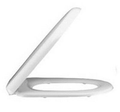 Vogue Caprice Modern White Soft Close Toilet Seat and Cover (Top Fixing)