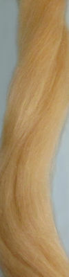 English Mohair light blonde for rooting dolls Reborn 1/2 oz