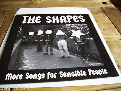 THE SHAPES  more songs for sensible people lp KBD new and in stock