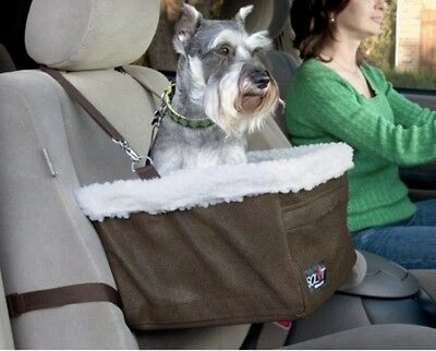 Solvit Tagalong Pet Booster Car Seat Medium With Faux Sheepskin Liner Safety