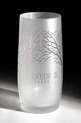 Belvedere Frosted Glass - Etched Belvedere Vodka New - Free Uk Post