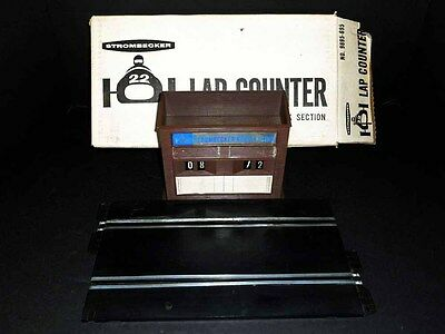 Vintage Strombecker Lap Counter Building, Track 1/32 With Original Box