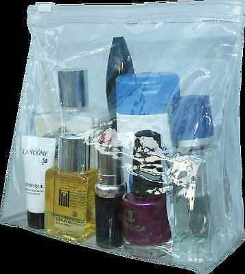 Airport security liquid bags hand luggage, Compliant Bag for Life, Makeup bags