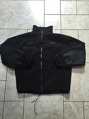 Ex Police Black Patrol Fleece. Extra Large Tall. Excellent Condition.