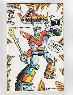 Voltron (1984) #1 VF/NM 9.0 Modern Comics 1st Voltron Appearance