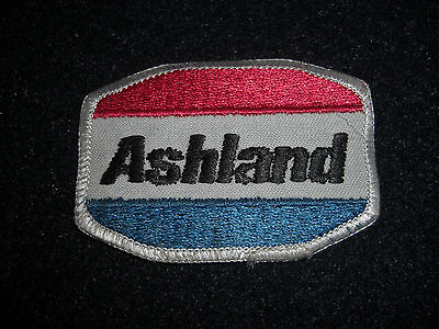 Ashland Gas and Oil Station Used Patch Original 1970's