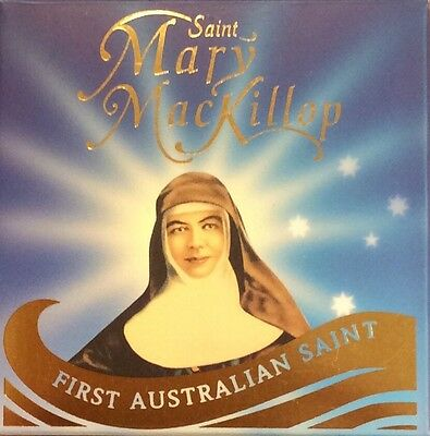 2010 Saint Mary mackillop 1/10 oz gold coin
