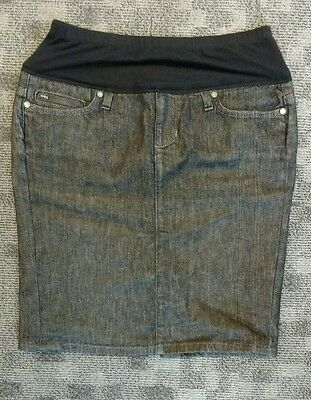 Joe's Jean Maternity Skirt Size Small A Pea in the Pod