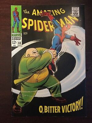 Amazing Spider-man 60 King Pin 9.0 VF/NM Silver Age Beauty