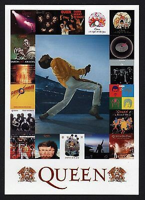 40x Queen: Discography - Postcard (Lot of 40 Postcards)
