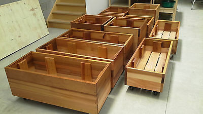 Mobile Raised Garden Bed Planter Boxes