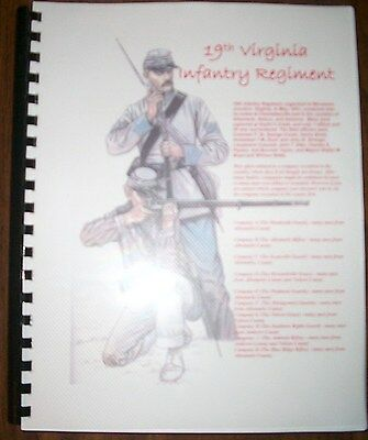 Civil War History of the 19th Virginia Infantry Regiment